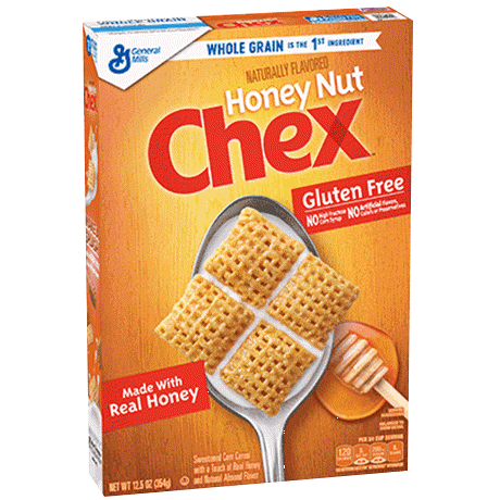 General Mills Honey Nut Chex Cereal