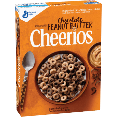 General Mills Chocolate Peanut Butter Cheerios Cereal
