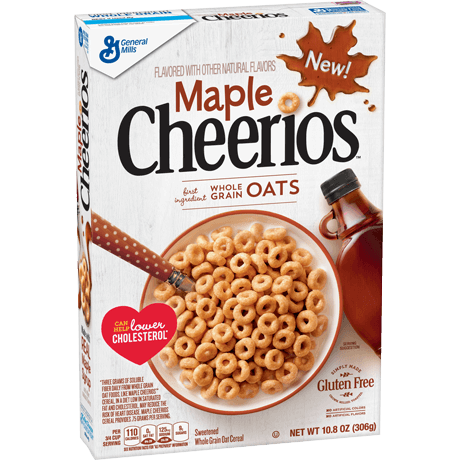General Mills Maple Cheerios Cereal
