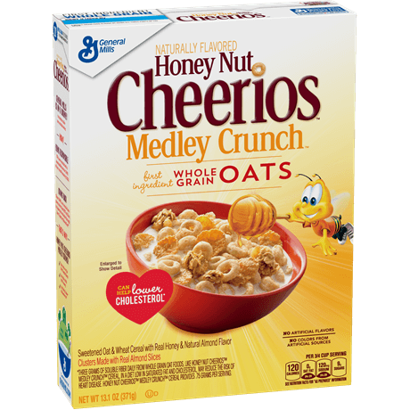 General MIlls Honey Nut Cheerios Medley Crunch Cereal