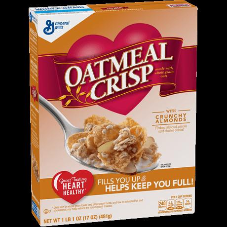 General Mills Oatmeal Crisp Cereal