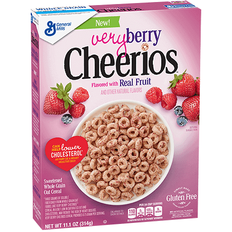 General Mills Very Berry Cheerios Cereal